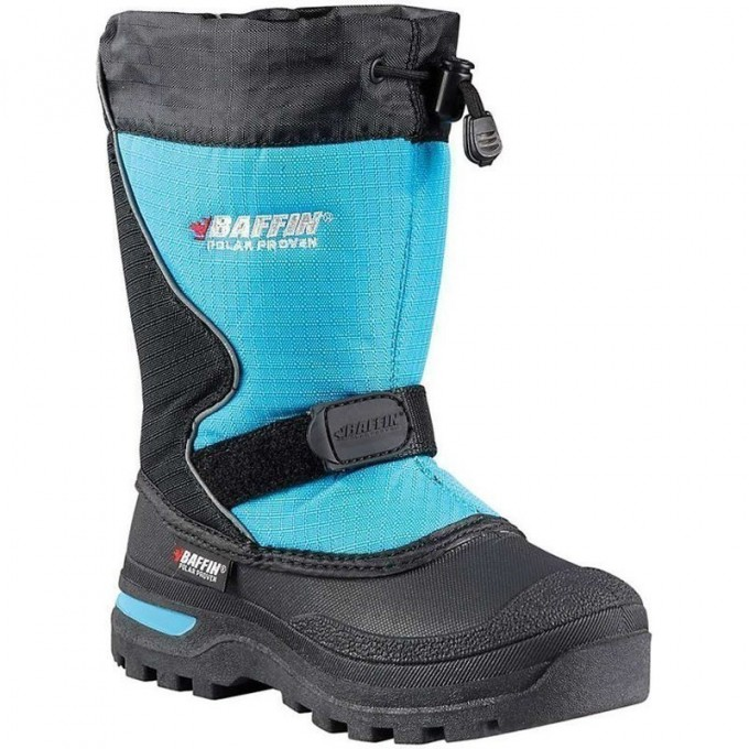 Сапоги BAFFIN Mustang Black/Electric Blue 03/35 4820-0068-BAO-03
